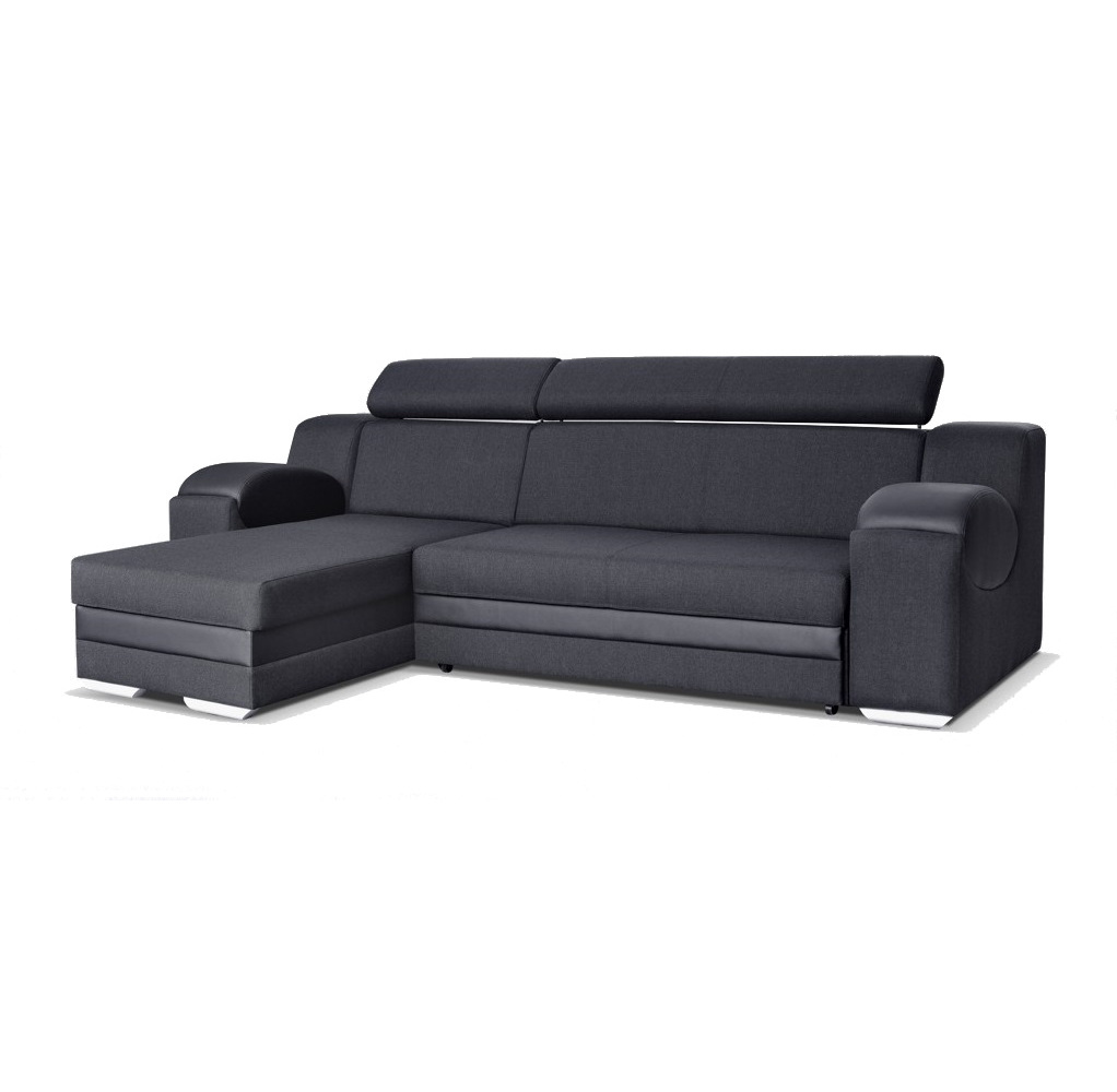 ecksofa mercury schwarz m bel muller braun. Black Bedroom Furniture Sets. Home Design Ideas