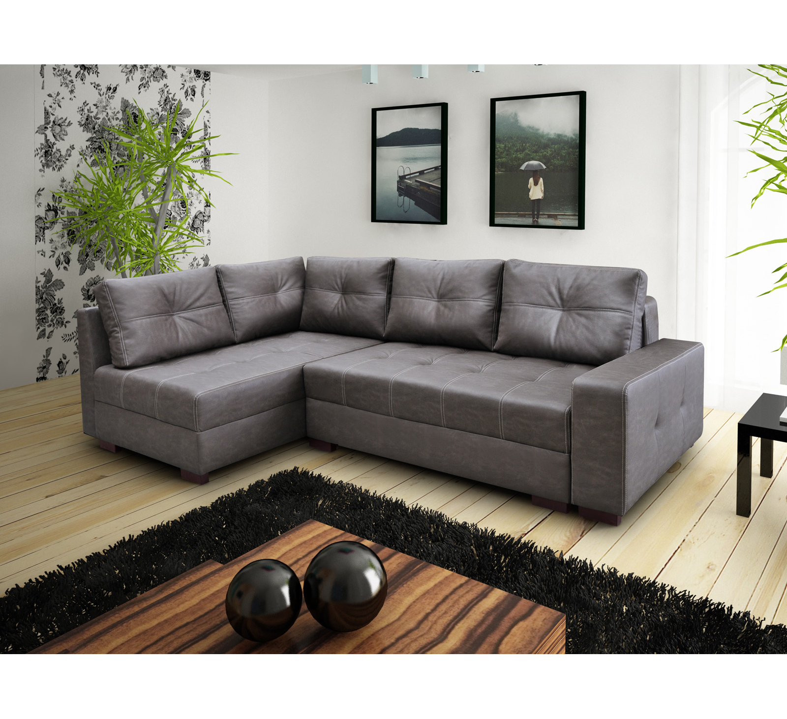 ecksofa bahama elefant m bel muller braun. Black Bedroom Furniture Sets. Home Design Ideas