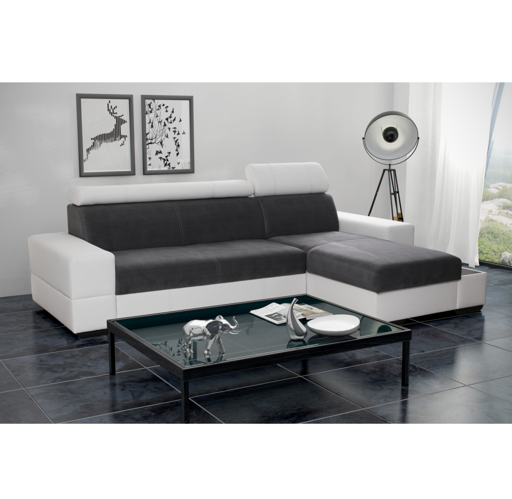 ecksofa capri grau m bel muller braun. Black Bedroom Furniture Sets. Home Design Ideas