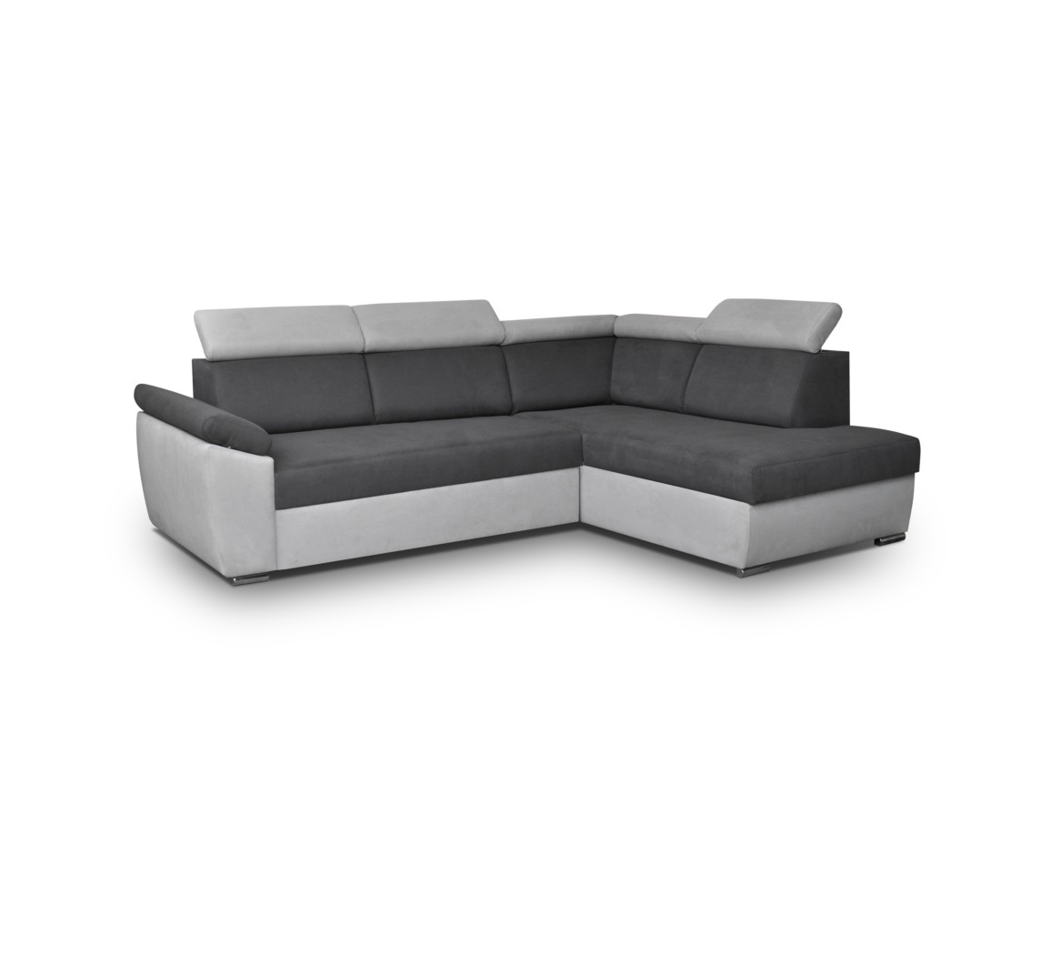 ecksofa modena grau m bel muller braun. Black Bedroom Furniture Sets. Home Design Ideas