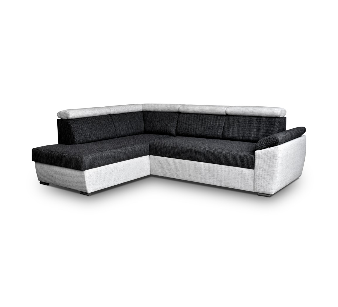 ecksofa modena schwarz m bel muller braun. Black Bedroom Furniture Sets. Home Design Ideas