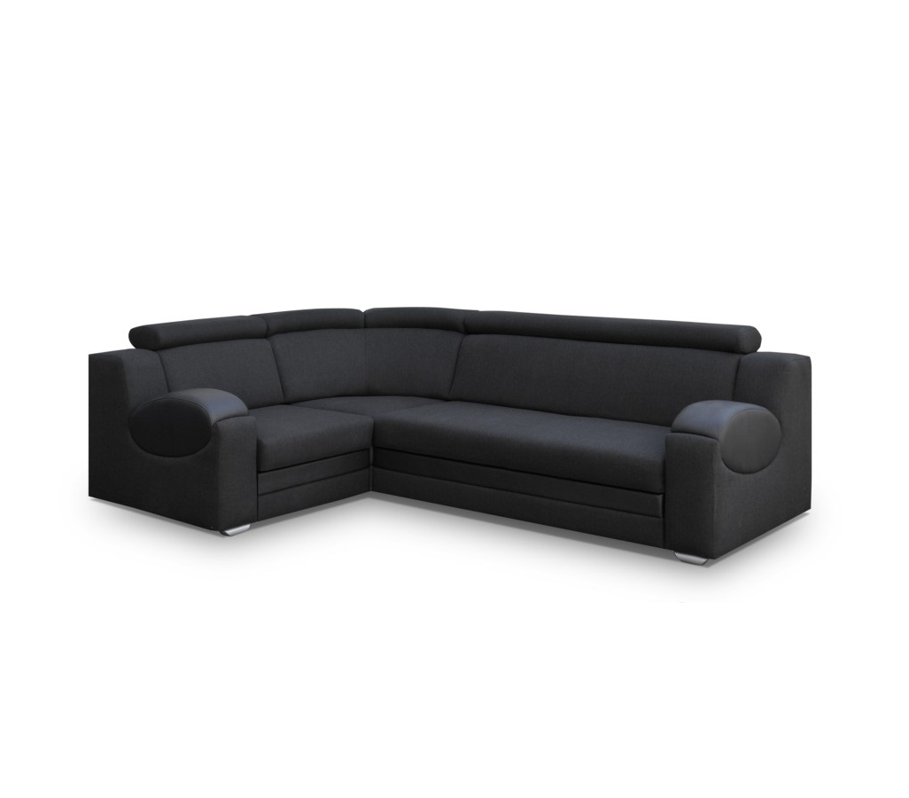 ecksofa paris schwarz m bel muller braun. Black Bedroom Furniture Sets. Home Design Ideas