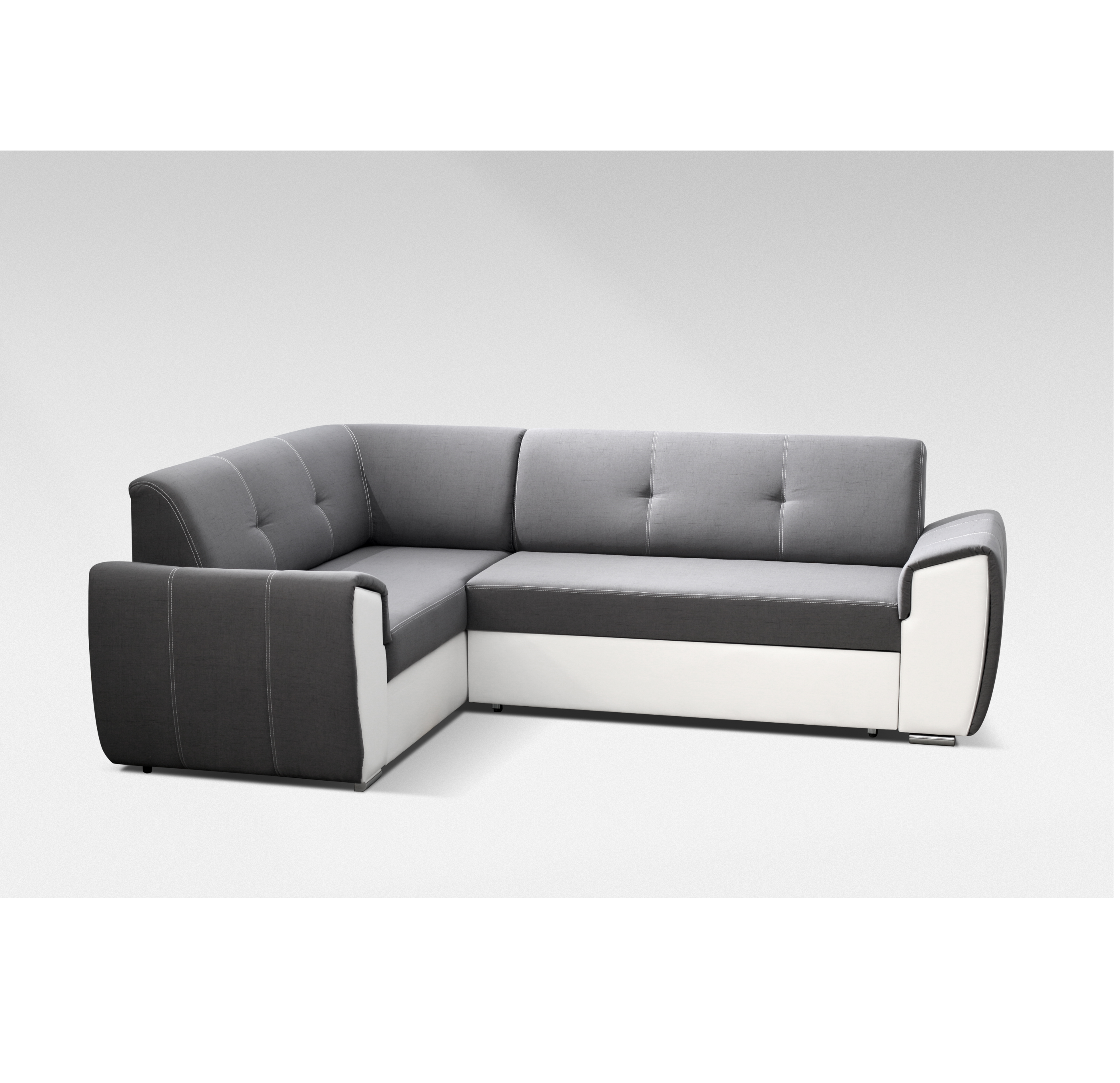 ecksofa verona i dunkelgrau m bel muller braun. Black Bedroom Furniture Sets. Home Design Ideas