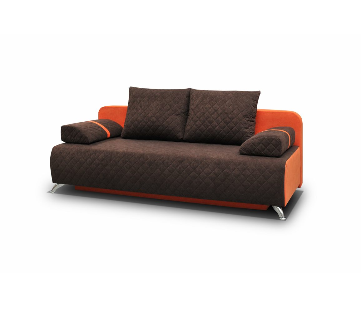 couch mit schlaffunktion sofa schlafsofa sofagarnitur braun microfaser palermo ebay. Black Bedroom Furniture Sets. Home Design Ideas