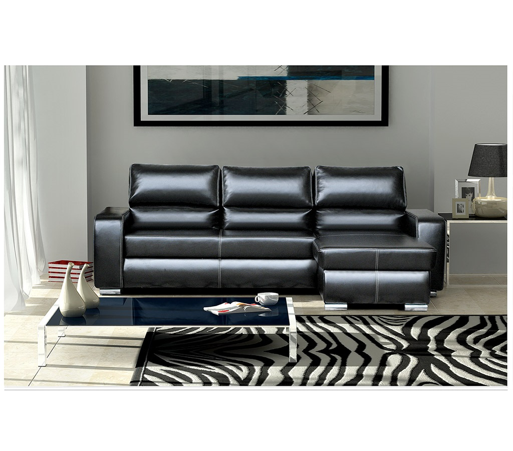 ecksofa roni schwarz m bel muller braun. Black Bedroom Furniture Sets. Home Design Ideas