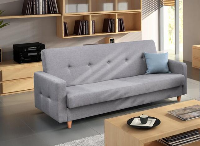 Couch mit schlaffunktion sofa schlafsofa wohnzimmercouch for Couch dunkelgrau