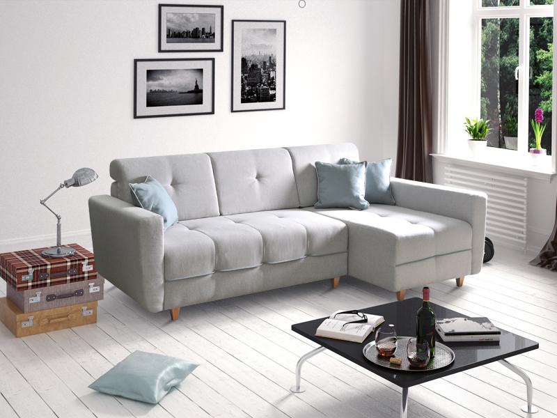 ecksofa tucson hellgrau m bel muller braun. Black Bedroom Furniture Sets. Home Design Ideas