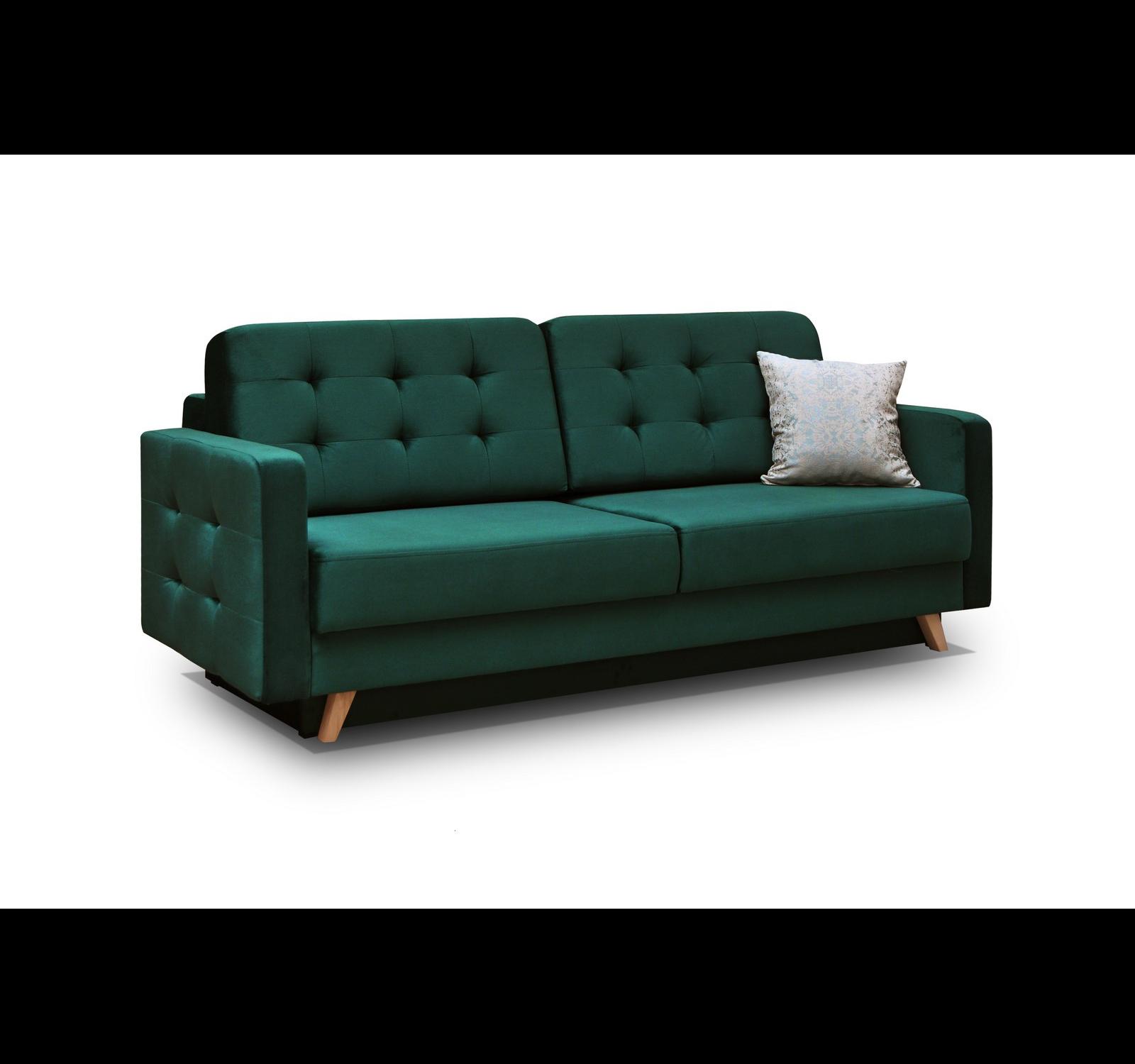 sofa carla dunkelgr n m bel muller braun. Black Bedroom Furniture Sets. Home Design Ideas