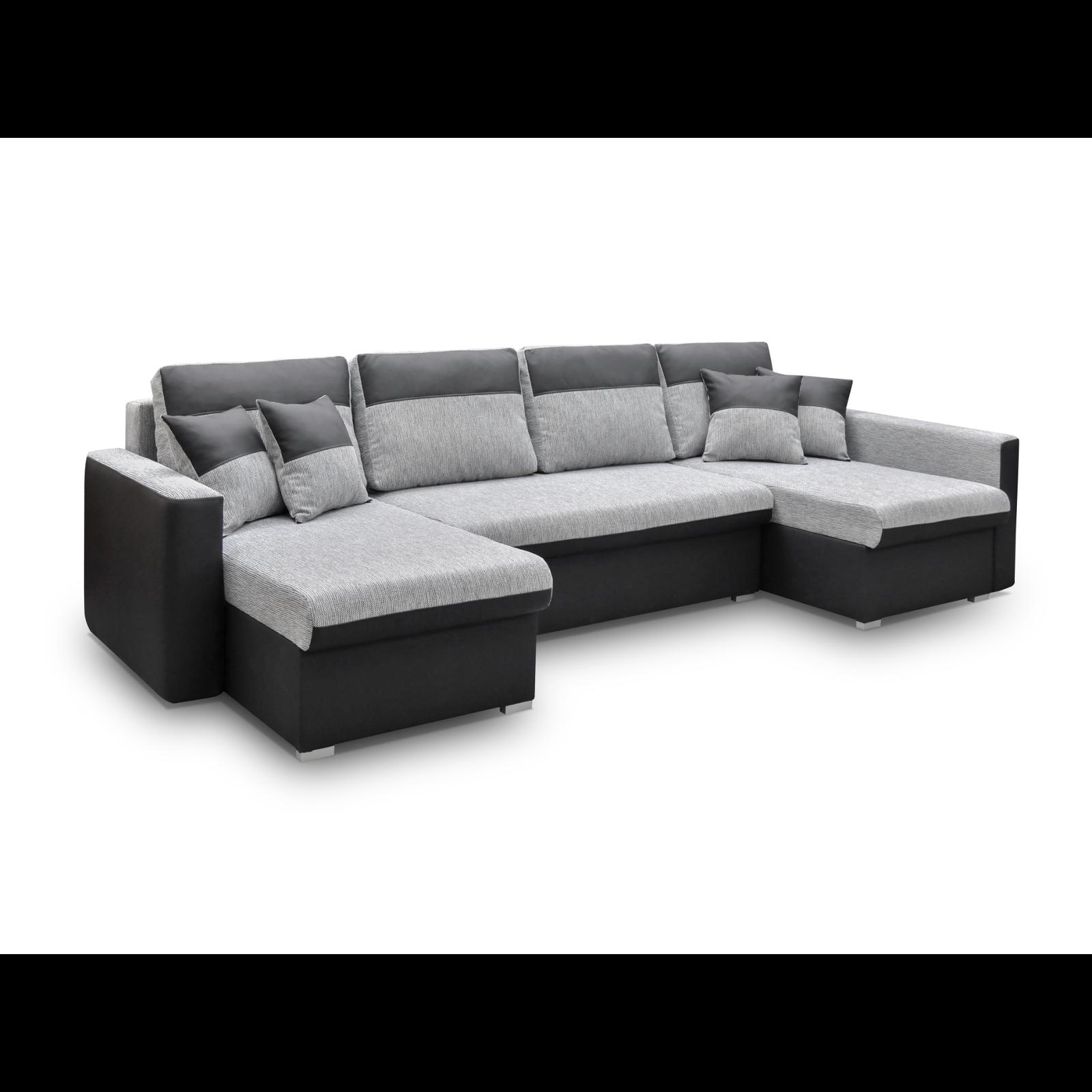 ecksofa berlin u schwarz m bel muller braun. Black Bedroom Furniture Sets. Home Design Ideas