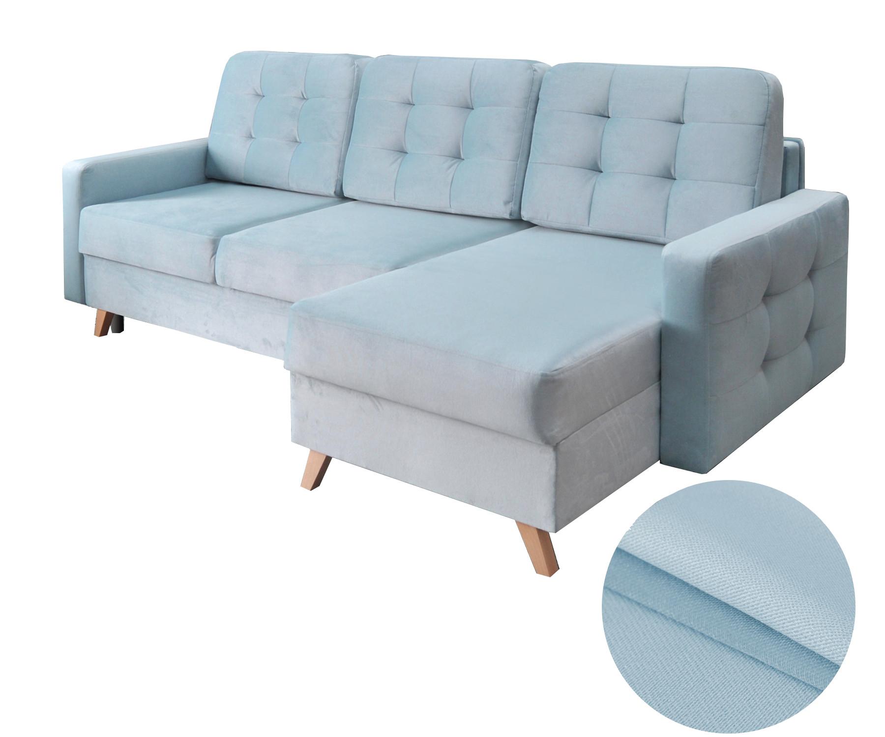 moderne ecksofa couch eckcouch mit schlaffunktion dunkelgr n design gr n carla ebay. Black Bedroom Furniture Sets. Home Design Ideas