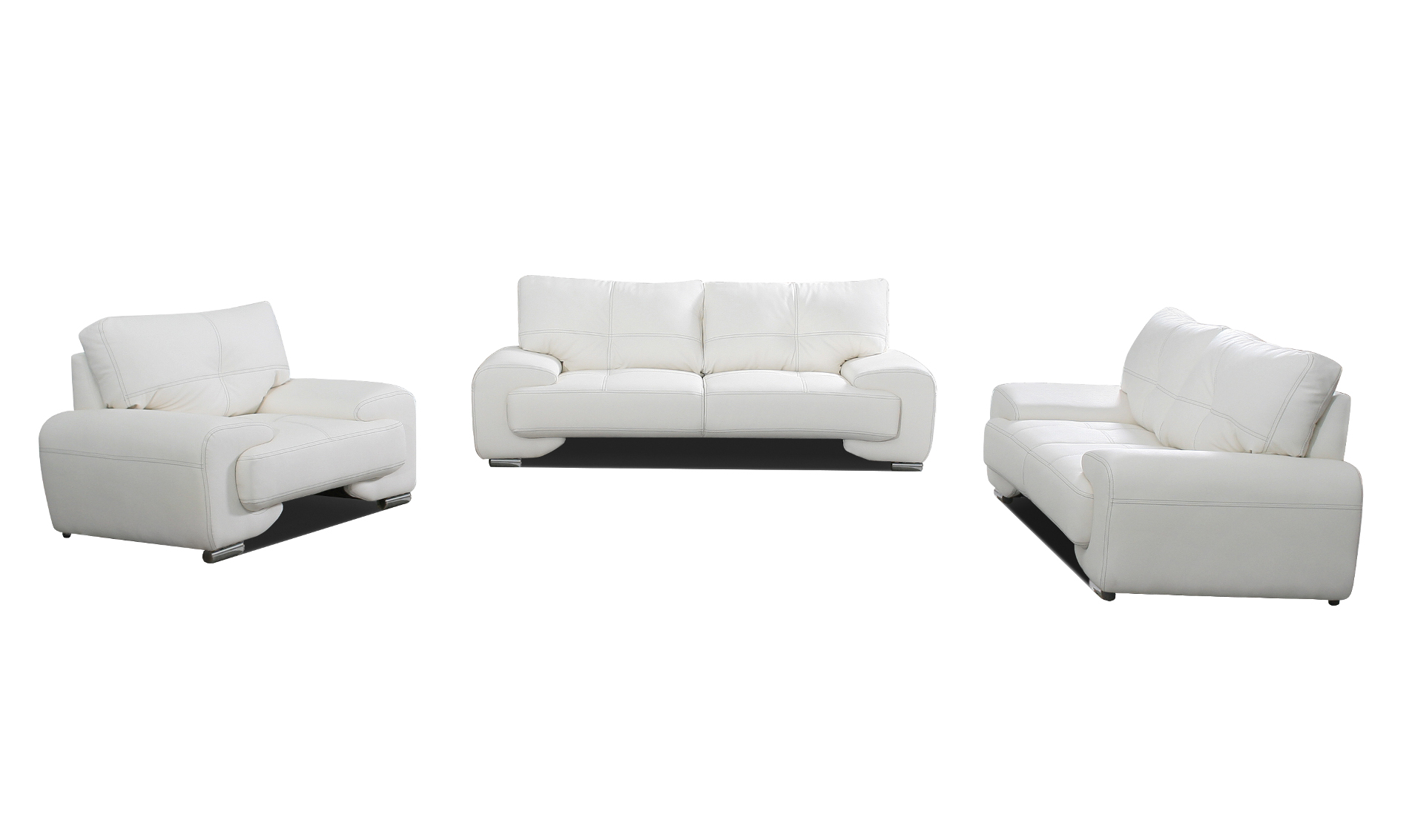 Klassische 3 2 1 Kombinationen mit Dreisitzer Sofa günstig kaufen