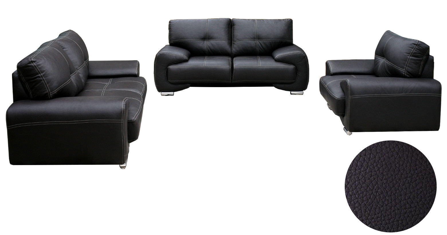 wohnlandschaft sofa set couch 3er 2er sessel 3 2 1. Black Bedroom Furniture Sets. Home Design Ideas