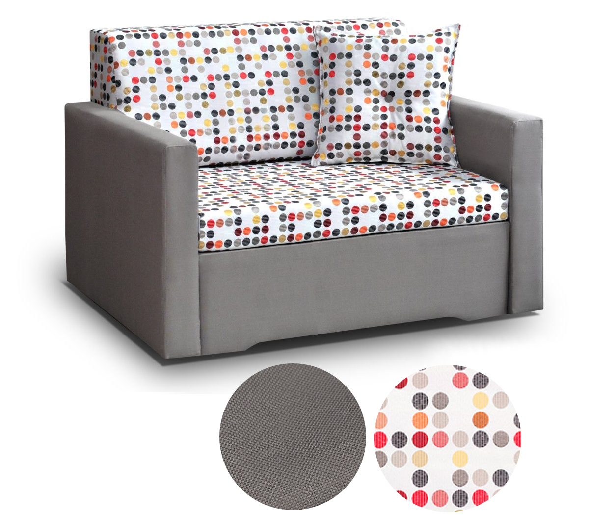 kindersofa mit bettfunktion schlafsofa kindersessel couch rosa giorgio 120 cm ebay. Black Bedroom Furniture Sets. Home Design Ideas