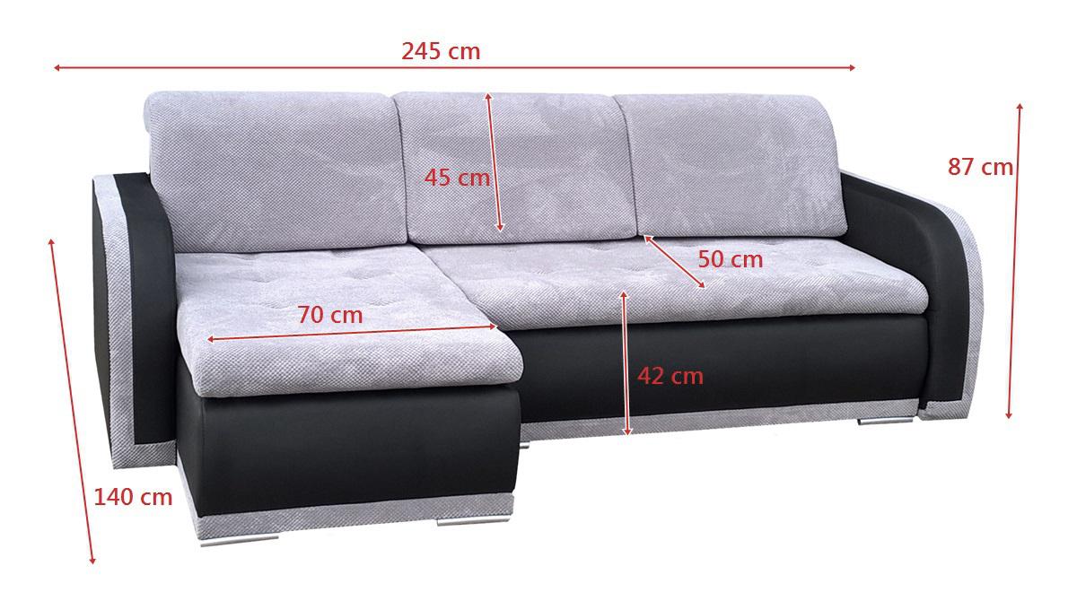 kleine ecksofa mit bettkasten polsterecke moderne. Black Bedroom Furniture Sets. Home Design Ideas