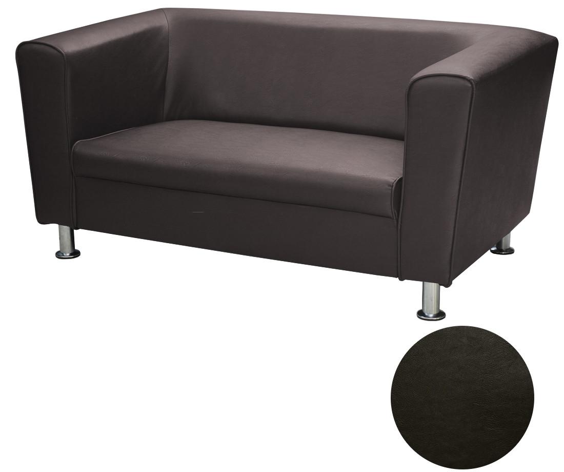 kleine 2sitzer design sofa 2er b ro kunstleder sofagarnitur couch wei vancouver ebay. Black Bedroom Furniture Sets. Home Design Ideas