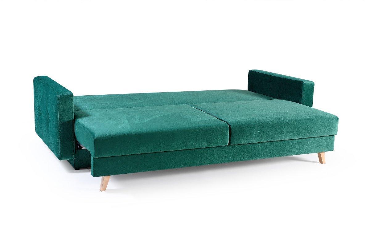 Sofa nico dunkelgr n m bel muller braun for Sofa dunkelgrun