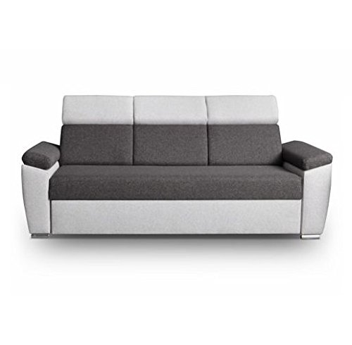 sofa monza grau m bel muller braun. Black Bedroom Furniture Sets. Home Design Ideas