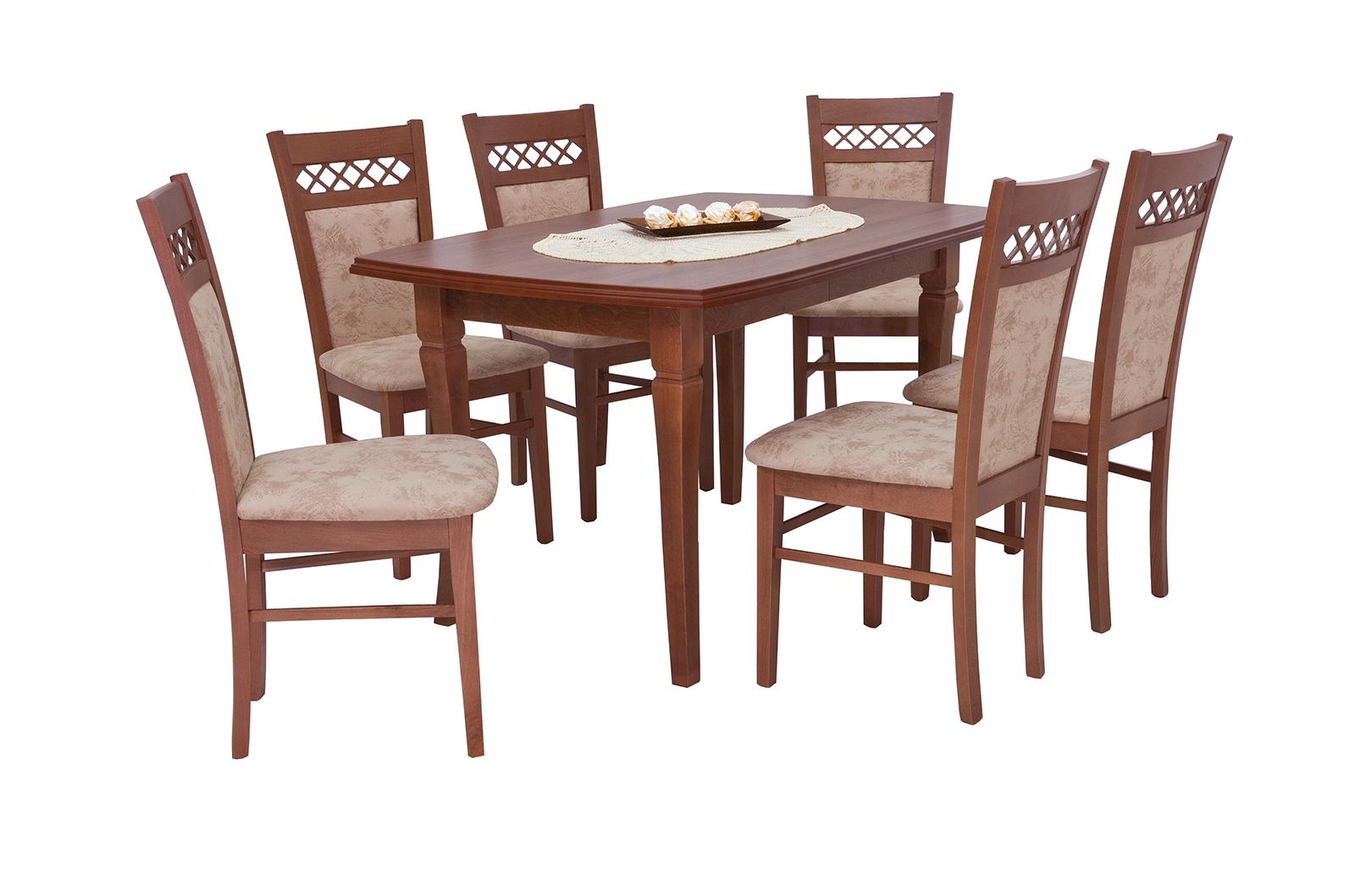Esstisch Mit 6 Stühlen Ausziehbare Tisch Esszimmertisch