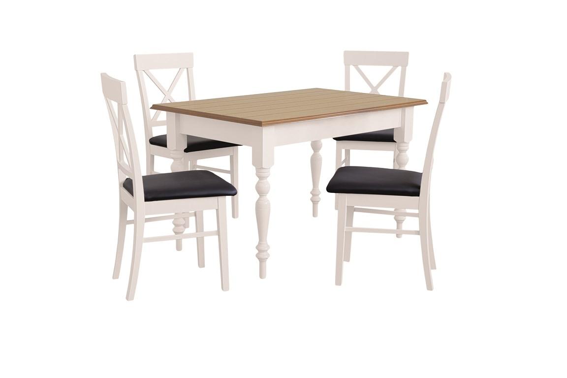 Esstisch Mit 4 Stühlen Ausziehbare Tisch Esszimmertisch