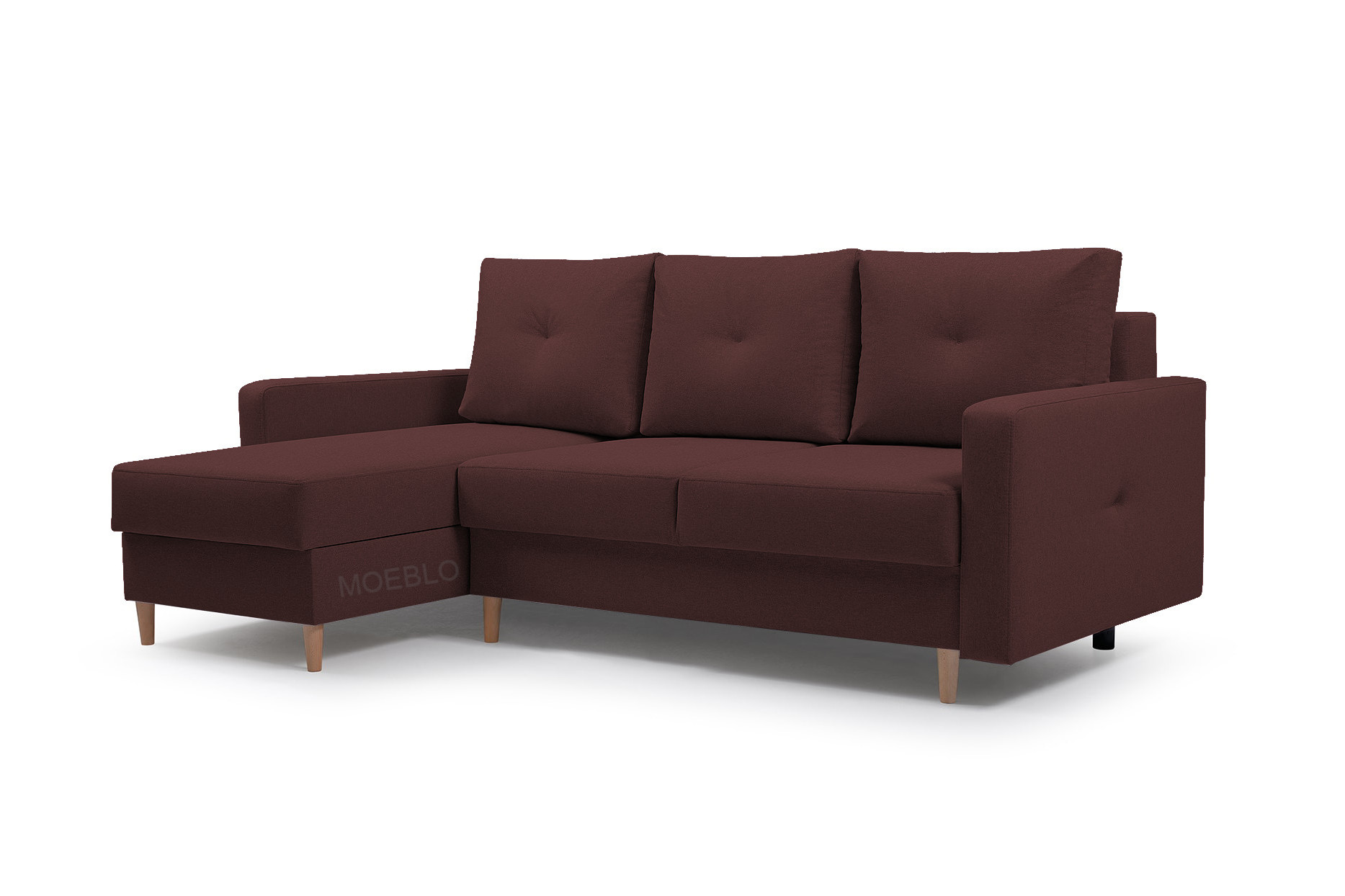 Moderne Ecksofa Couch Eckcouch Mit Schlaffunktion Und